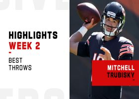 Mitchell Trubisky's best throws from 2-TD game | Week 2