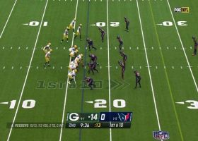 Tonyan's terrific lunging grab nets 31-yard gain for the Packers