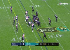 Leonard Fournette trucks Texans' defender with massive stiff-arm