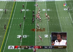 John Kelly accelerates for speedy 26-yard pickup on third-and-long