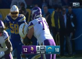Melvin Ingram sniffs out Vikings' screen for impressive INT