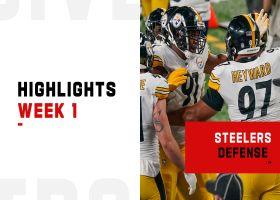 Steelers' biggest plays on defense on 'MNF' | Week 1