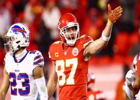 Mic'd Up: Travis Kelce, Frank Clark keep energy high vs. Bills | AFC Championship Game