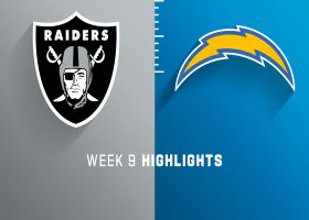 Raiders vs. Chargers highlights | Week 9