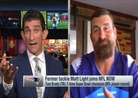 Matt Light discusses Tom Brady's move from Pats to Bucs