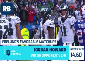 Cynthia Frelund's 10 most favorable fantasy Flex matchups | Week 9