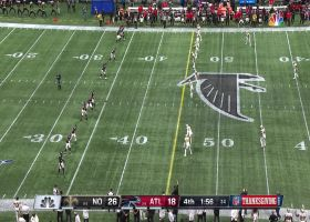Falcons miraculously recover second onside kick attempt