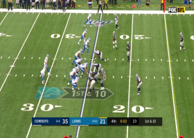 Marvin Jones pinballs off three defenders for his second TD of the game