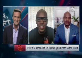 USC WR Amon-Ra St. Brown shares advantages of being youngest sibling