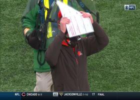 Basham's strip-sack of Mayfield sets Jets up at Browns' 17-yard line