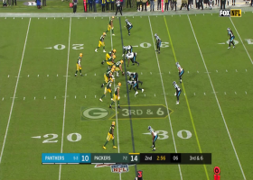 Jimmy Graham is left WIDE OPEN for massive 48-YARD catch and run