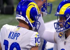 Stafford puts some touch on 16-yard TD to wide-open Kupp