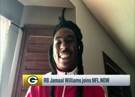 Jamaal Williams: 'I'd love to be a Packer all my life'