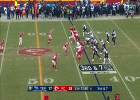 Chiefs ambush Ryan Tannehill for massive third-down sack