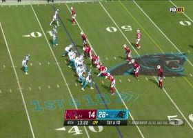 Mike Davis spins, cuts back for 18-yard pickup