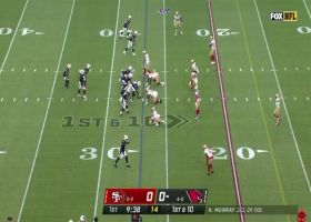 Rondale Moore comes inches from scoring TD on 26-yard gain
