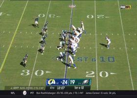 Darrell Henderson hits the gas on explosive 40-yard burst
