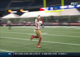 Jimmy G, Aiyuk connect for beautiful 35-yard deep ball