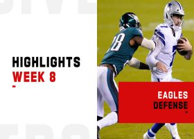 Every big play by the Eagles defense on 'SNF' | Week 8