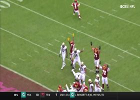 Antonio Gibson rushes up middle for 5-yard TD