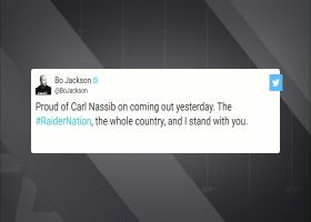 Mark Davis, Bo Jackson share support for Carl Nassib after coming out