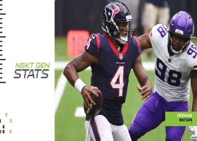 Deshaun Watson's five least probable completions at midseason