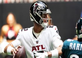 Matt Ryan's first pass of 2021 pinpoints Ridley for 16 yards