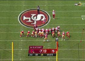 Zane Gonzalez drills career-long 56-yard FG at halftime buzzer