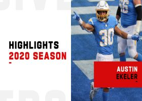 Austin Ekeler's best catches | 2020 season
