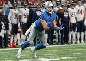 Miraculous tipped catch keeps Lions' drive alive on fourth down