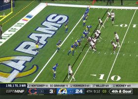 Rams swarm Foles to force turnover on downs in the red zone