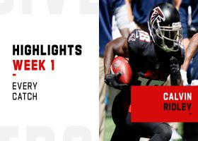 Every catch from Calvin Ridley's 2-TD game | Week 1