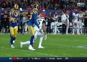 Dalton dissects Rams' D with 27-yard dart to Eifert