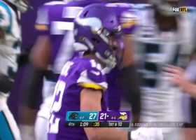 Kirk Cousins finds WIDE-OPEN Kyle Rudolph for 25-yard gain