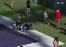 Can't-Miss Play: Lamarkable! Jackson's 39-yard TD bomb hits toe-dragging Brown