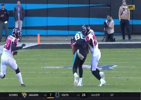 Kyle Allen hits Greg Olsen up the seam for 26 yards