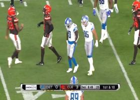 Brandon Powell completely jukes out Browns defenders on 67-yard kick return
