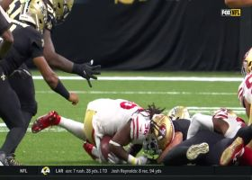 Taysom Hill fumbles to keep 49ers hopes alive