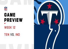Titans vs. Colts preview | Week 12