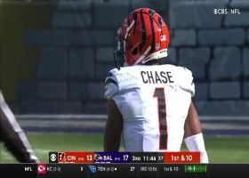 Burrow, Chase dissect Ravens defense on 21-yard pickup