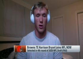 Harrison Bryant reacts to Nick Chubb's 'ridiculous' squatting strength