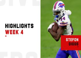 Every catch by Stefon Diggs from 115-yard game | Week 4