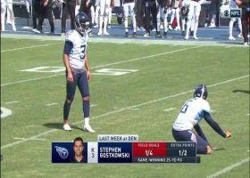 Stephen Gostkowski drills long-distance FG at halftime buzzer