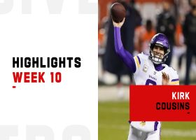Kirk Cousins' best throws from first 'MNF' win | Week 10