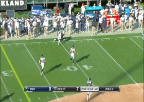 Ryan Grant goes WAY UP for tightly contested grab