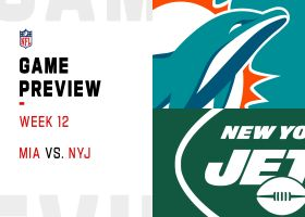 Dolphins vs. Jets preview | Week 12