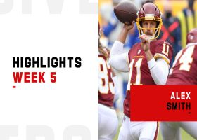 Alex Smith's best throws from return to action | Week 5
