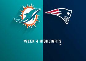 Dolphins vs. Patriots highlights | Week 4