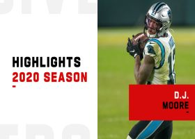 D.J. Moore's best catches | 2020 season