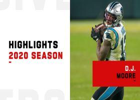 D.J. Moore's best catches   2020 season